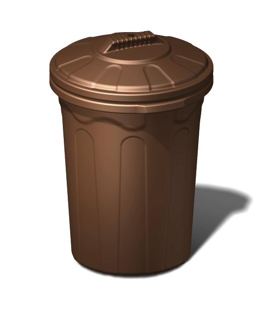 Бак пластиковый хозяйственный с крышкой 120 литров