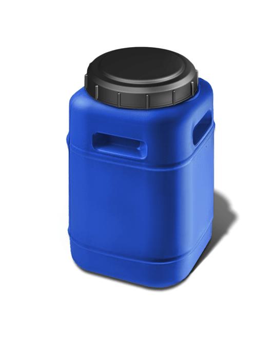 Фляга пластиковая с крышкой квадратная 20 литров