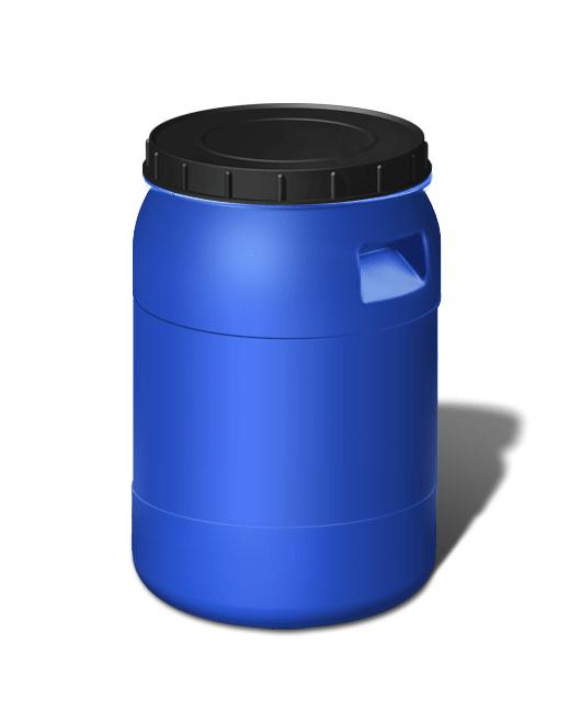Бочка пластиковая с крышкой 50 литров