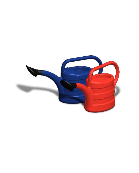 Лейки садовые пластиковые с рассеивателями 5 литров