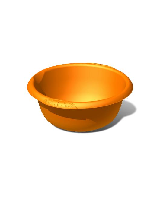 Таз пластиковый пищевой круглый 10 литров