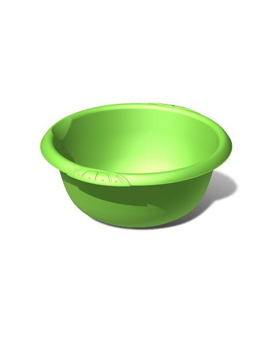 Таз пластиковый пищевой круглый 12 литров