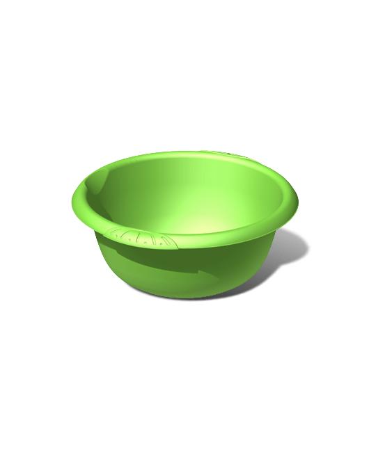 Таз пластиковый пищевой круглый 8 литров