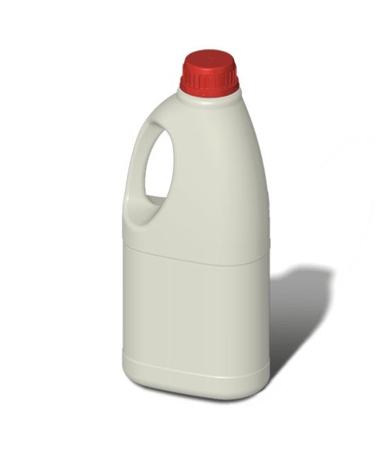Бутылка пластиковая с ручкой 1,5 л