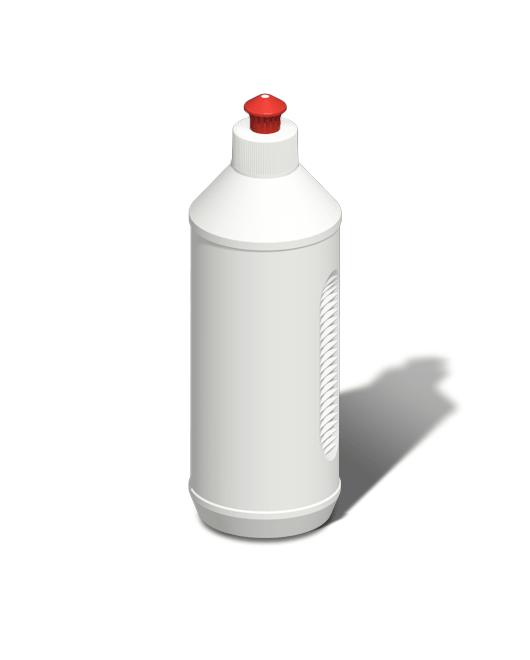 Бутылка пластиковая 500 мл с колпачком пуш-пул